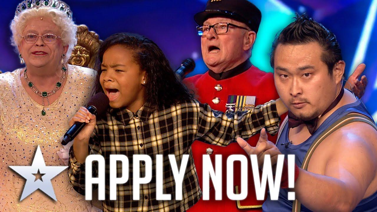 APPLY NOW for BGT 2022! | Britain's Got Talent