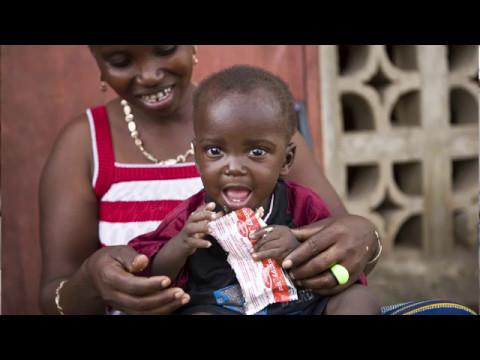 Näin UNICEF auttaa aliravittuja lapsia