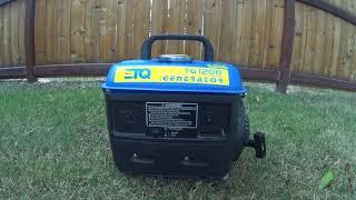 ETQ 1200w Generator Review