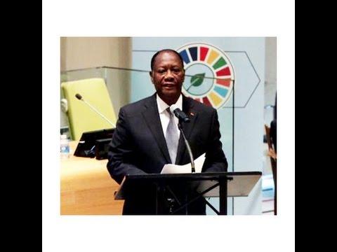 Signature de l'accord de PARIS - Déclaration du Président de la Côte d'Ivoire