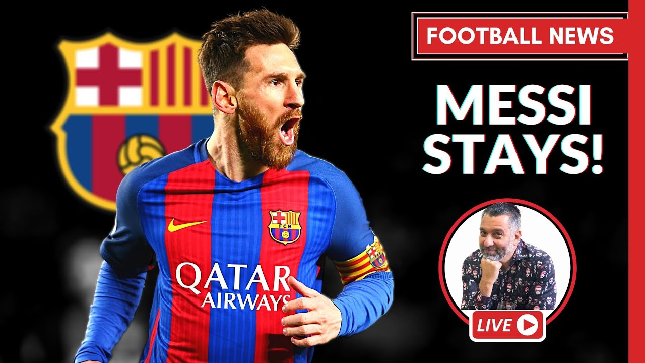 MESSI STAYS! Dissecting The Interview | Football TRANSFER NEWS