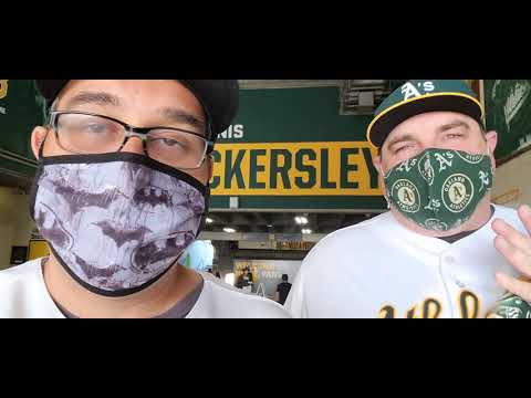 Oakland-Alameda County Coliseum home of the Oakland Athletics Tour! May 8 2021, A's V Tampa Bay