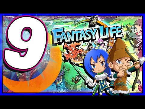 Fantasy Life - Walkthrough Part 9  Co-op Questing!