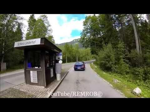 Driving From Sindelsdorf To Linderhof Castle, Germany