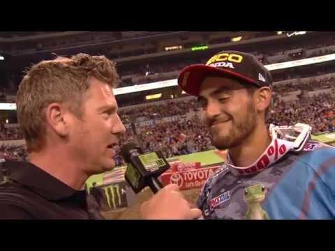 Race Day LIVE 2015 - Indianapolis - Justin Bogle on the Podium