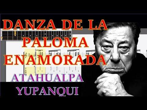 Danza de la paloma enamorada tablaturas Atahualpa Yupanqui descargar guitar tabs tutorial