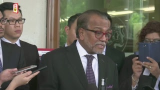Prominent lawyer, Tan Sri Dr Muhammad Shafee Abdullah pleaded not guilty