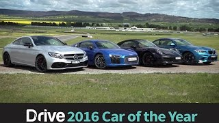 911 Carrera S v BMW M2 v Audi R8 v C63 S Coupe | 2016 Best Performance Car Over $60,000