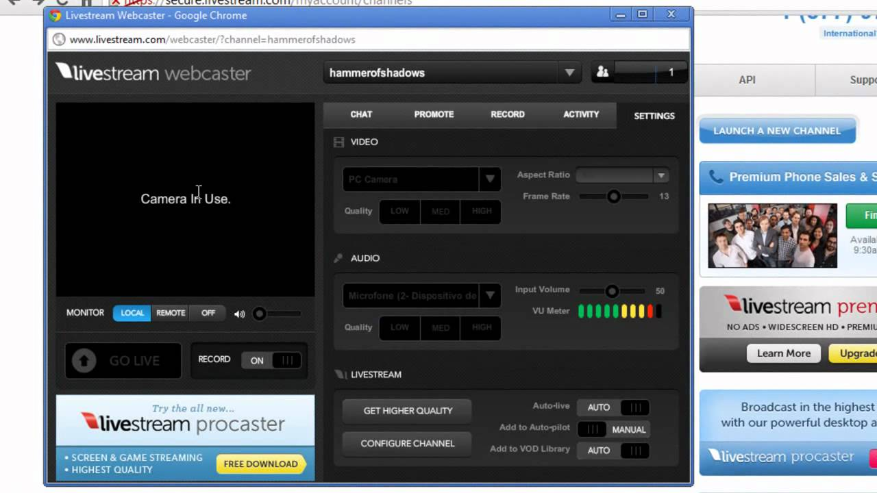 procast webtv software