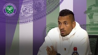 Nick Kyrgios - it's important to have fun on court | Wimbledon 2018