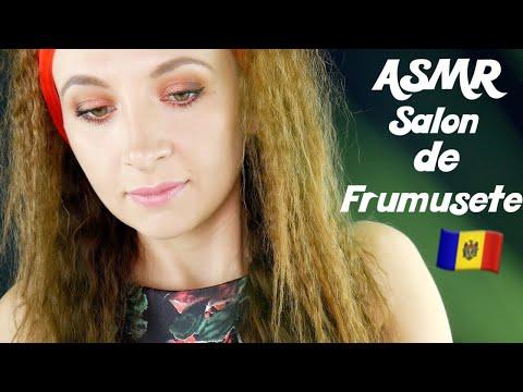 ASMR Salon de frumusețe / Frizură *Română