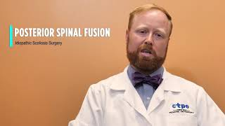Posterior Spinal Fusion Scoliosis Surgery - Dr. Brian Kaufman