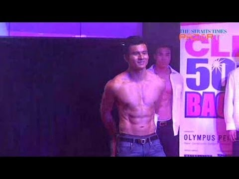 Strip & Tease (Cleo Bachelors 2013 Pt 3)