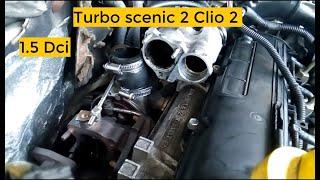 Tuto turbo scenic megane clio 1.5 dci 1/2