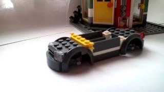 как сделать спортивную машину из лего