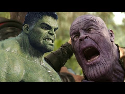 Avengers Infinity War Alternate Ending REVEALED - Hulk vs. Thanos in Wakanda!