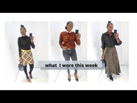 WHAT I WORE THIS WEEK & OTHER SHENANIGANS | Nelly Mwangi