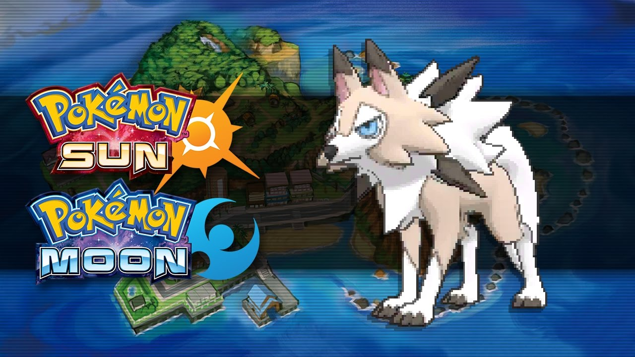 Pokemon Sun and Moon | How To Get Lycanroc (Midday Form) - YouTube