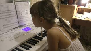 Игра на фортепиано/1 класс музыкальной школы/YAMAHA DGX660