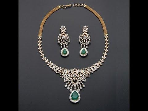 TOP Light Weight Diamond Necklace Designs