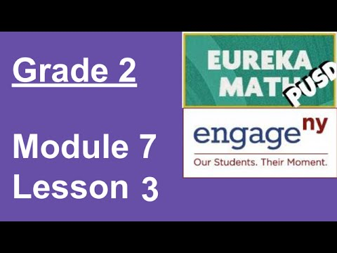 Eureka Math Grade 2 Module 7 Lesson 20 - YouTube
