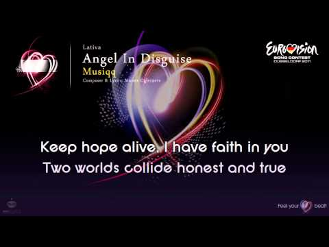 "Musiqq - ""Angel In Disguise"" (Latvia) - [Karaoke version]"