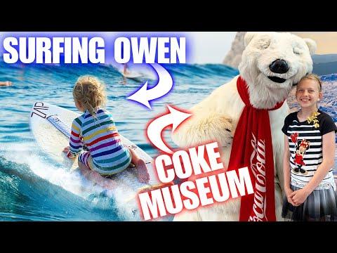 2 Year Old Stuns Beachgoers + Coke Overload!