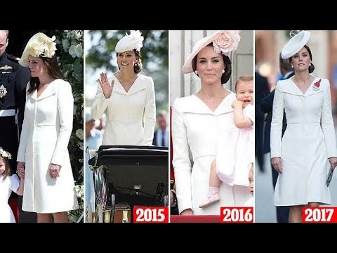 c583b1e86ff Is Kate thrifty or too busy to go shopping  Kate Middleton recycled a  McQueen coat at royal wedding