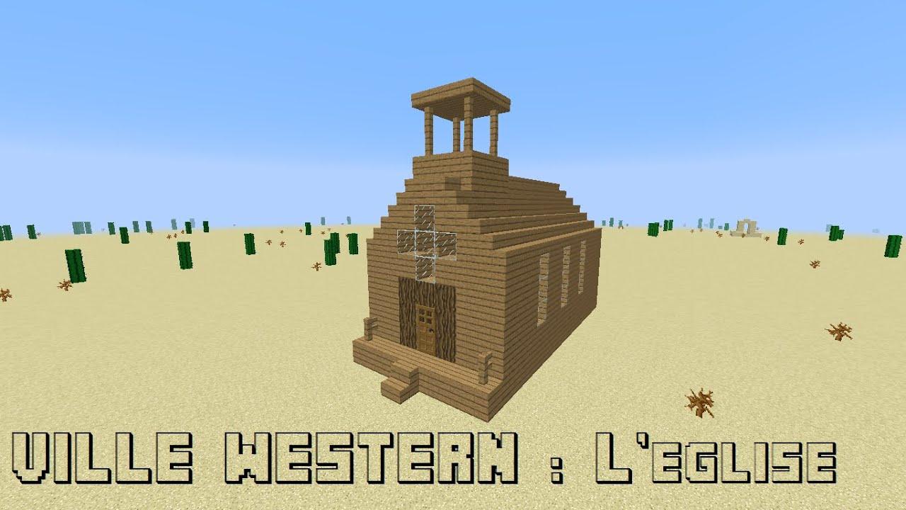 Tuto minecraft construction d 39 une ville western episode 2 l 39 - Video de minecraft construction d une ville ...