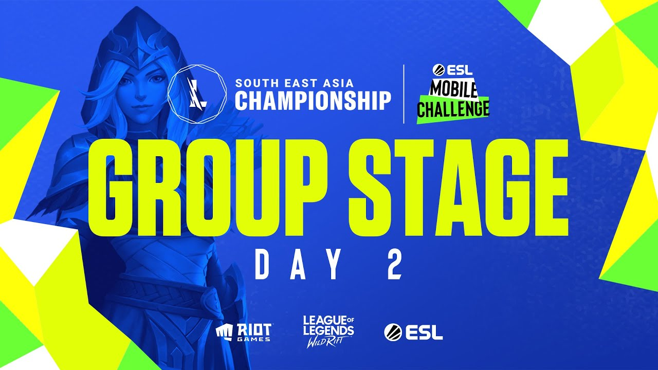 Download ESL Mobile Challenge presents Wild Rift SEA Championship 2021: Group Stage Day 2