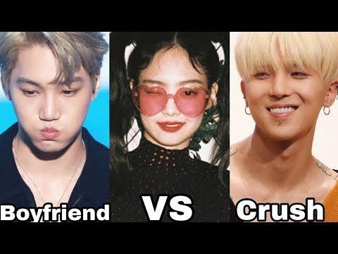 JENKAI Jennie and Kai vs MINNIE Mino and Jennie (CRUSH vs BOYFRIEND )
