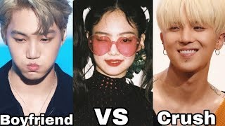 JENKAI Jennie and Kai vs MINNIE Mino and Jennie (CRUSH vs BOYFRIEND )