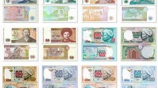 Коллекция банкнот ТЕНГЕ Казахстан от 1 тенге 1993 года до 10000 тенге 2012(Казахстанский тенге (казахский рубль) — национальная валюта Казахстана. Введена в обращение 15 ноября 1993..., 2015-04-08T20:01:30.000Z)