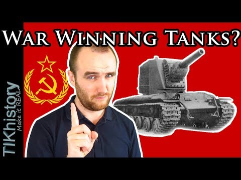 """Soviet """"War-Winning"""" Tanks in 1941? The Role of Tanks on the Eastern Front WW2"""