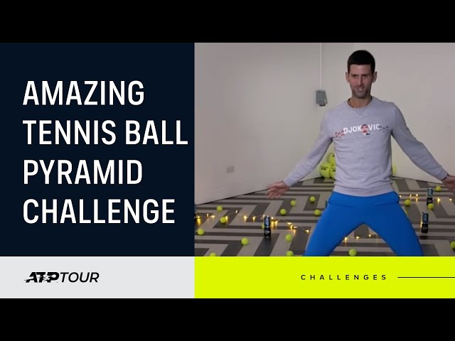 Djokovic, Thiem & More Feature in Finals Pyramid Challenge!