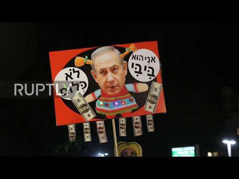 Israel: 'Bibi go home' - Anti-govt. protests in full swing for 6th week in Tel Aviv
