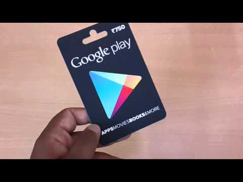 How to Redeem Google Play Gift Card