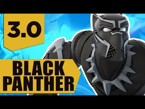 Disney Infinity 3.0: Black Panther Gameplay and Skills