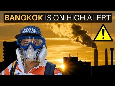 BANGKOK IS ON HIGH ALERT (air pollution)