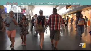 Roma con gli occhi dei turisti: 'Vacanza da incubo'
