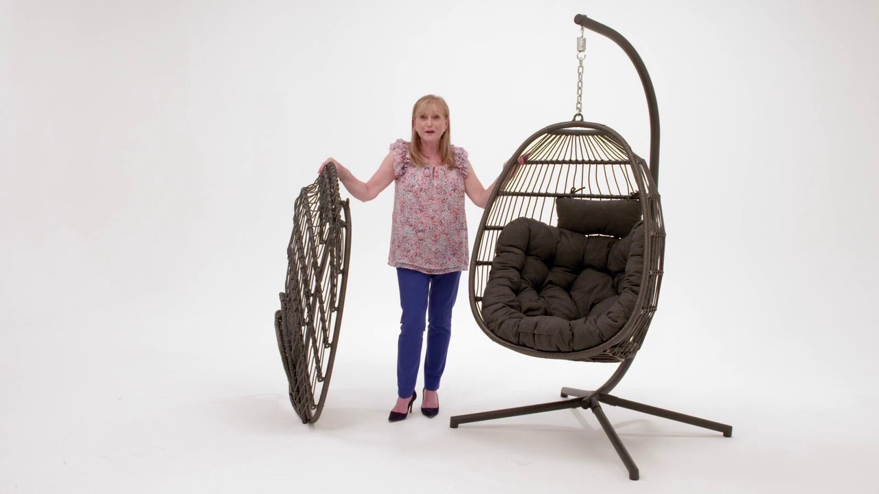 Eleanor Cocoon Egg Chair Youtube
