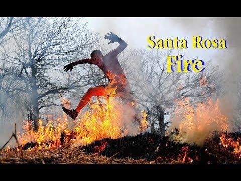 Santa Rosa Fires حرائق سانتا روزا كاليفورنيا أمريكا 2017