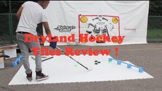 Dryland Hockey Tiles Review - Sweet Hockey Slick Dryland Hockey Training Tiles
