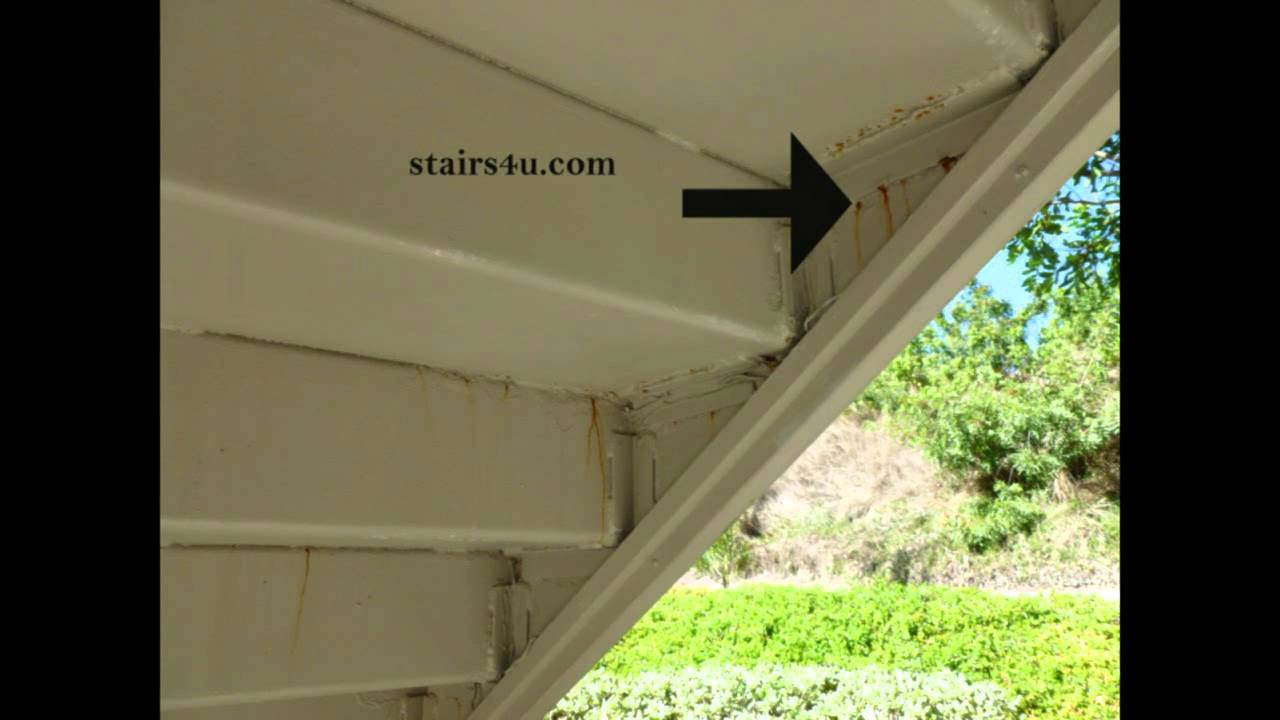 Bottom Of Rusted Stairway Could Mean Problems On Top