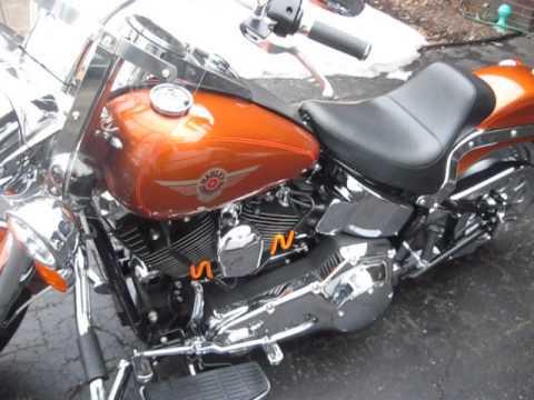 2000 Harley Davidson Fatboy Aztec Orange Pearl