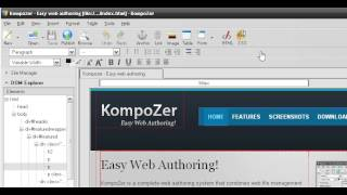 простая программа для новичков для Верстки страниц и создания первых сайтов