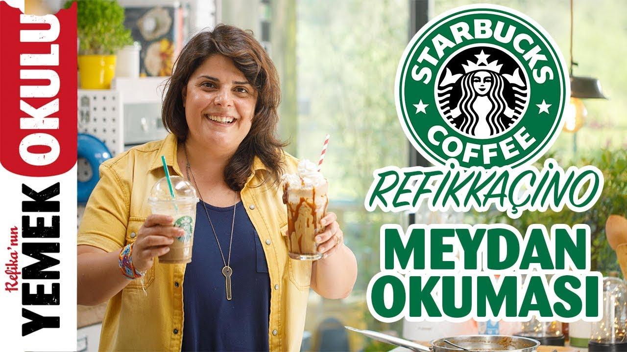 Starbucks Frappucino (Challenge) Meydan Okuması   Refika'ca Hali Refikkaçino
