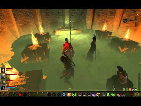 Dragon Age 2 Legacy - How to solve the torch puzzle / riddle