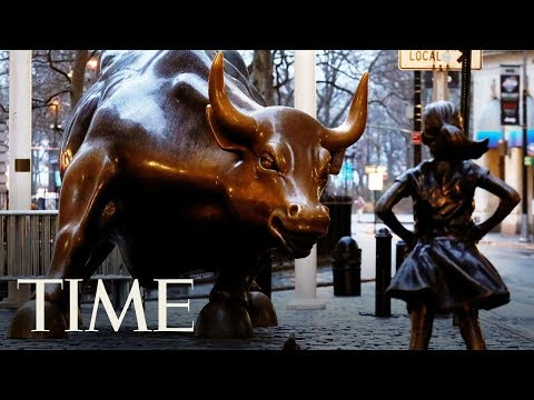 'Fearless Girl' Statue No Longer Facing 'Charging Bull,' Moving To NYSE | TIME