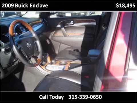 2009 buick enclave used cars rome ny youtube for Uvanni motors rome ny